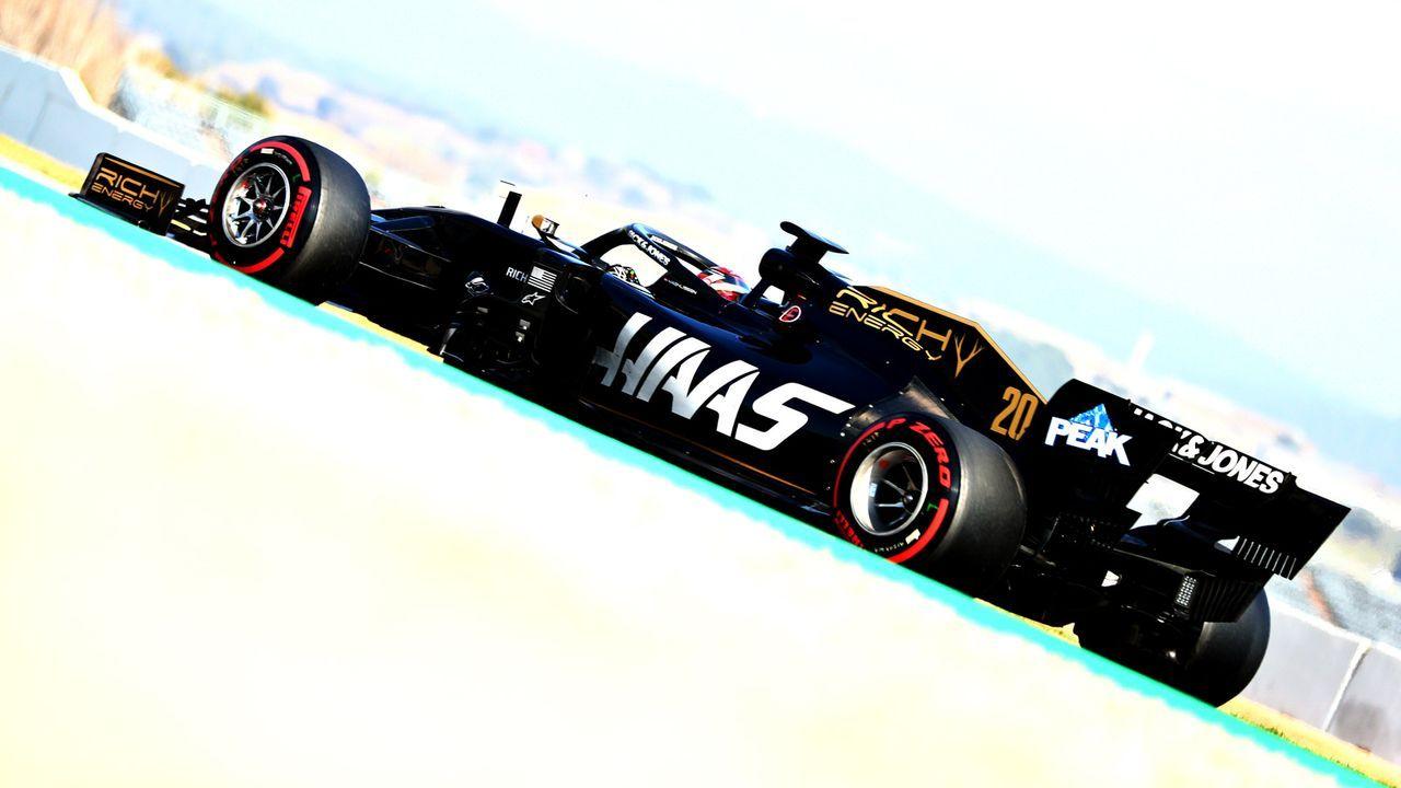 Platz 6: Haas - Bildquelle: Getty