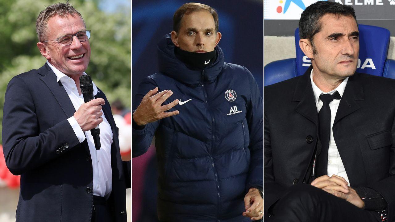 Verfügbare Trainer im Januar 2021 - Bildquelle: Getty Images/Imago
