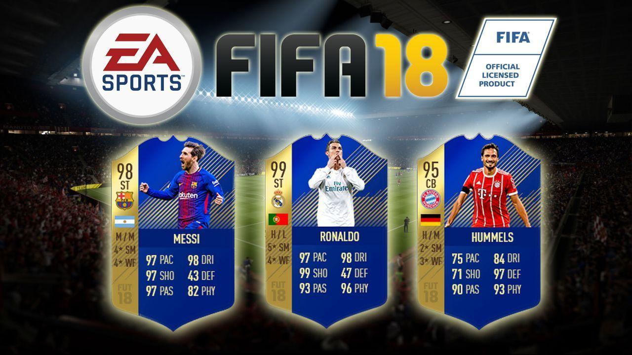 Das FIFA 18 Ultimate Team der Saison - Bildquelle: EA Sports