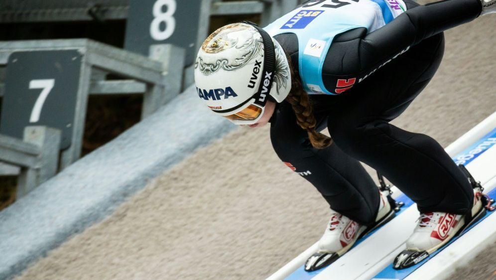 Seyfarth gewann mit dem Mixed-Team in Hinterzarten - Bildquelle: PIXATHLONPIXATHLONSID