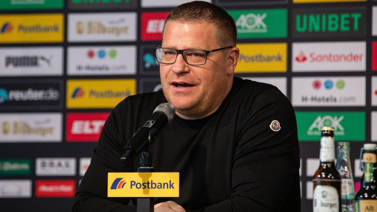 Max Eberl (Borussia Mönchengladbach, Sportdirektor) - Bildquelle: 2019 Getty Images