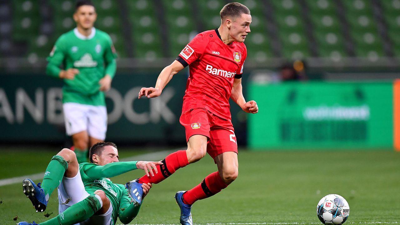 Platz 4 - Florian Wirtz (Bayer Leverkusen) - Bildquelle: 2020 Getty Images