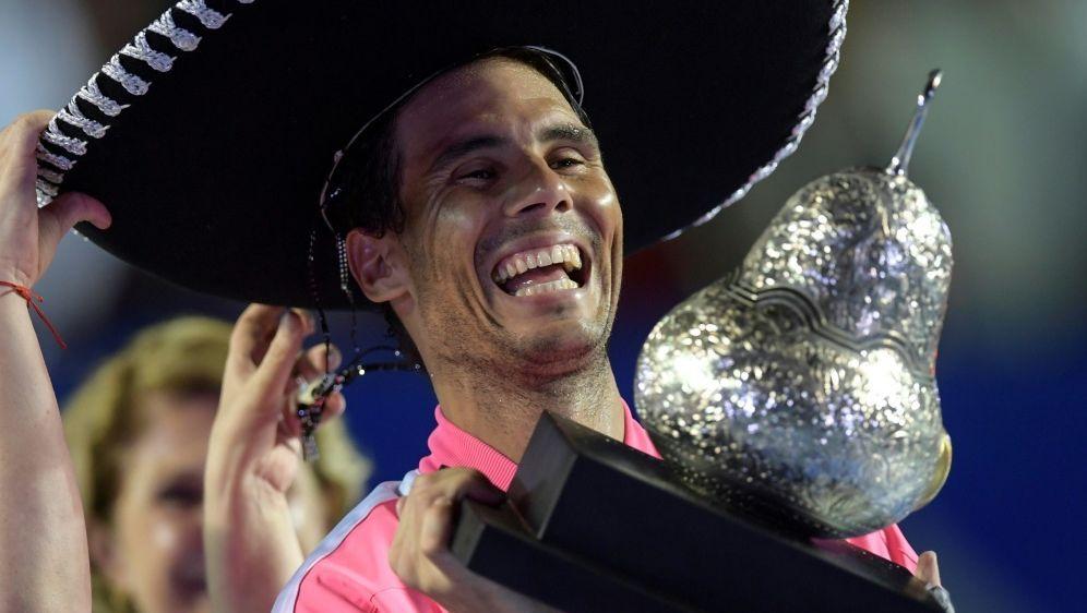 Gewinnt in Acapulco: Rafael Nadal - Bildquelle: AFPAFPPEDRO PARDO