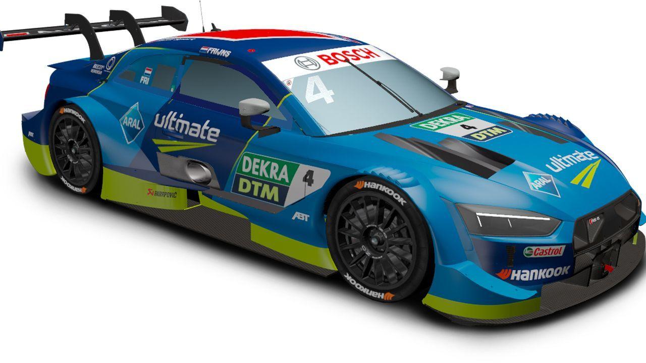 Robin Frijns (Audi Sport Team Abt Sportsline) - Bildquelle: DTM