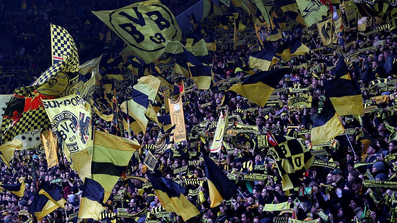 Platz 3: Borussia Dortmund (Signal Iduna Park)  - Bildquelle: 2019 Getty Images
