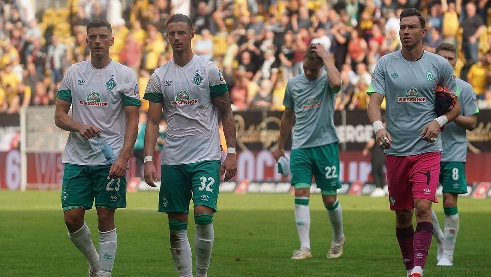 Werder Bremen musste auch gegen Dresden eine Pleite hinnehmen - Bildquelle: Imago