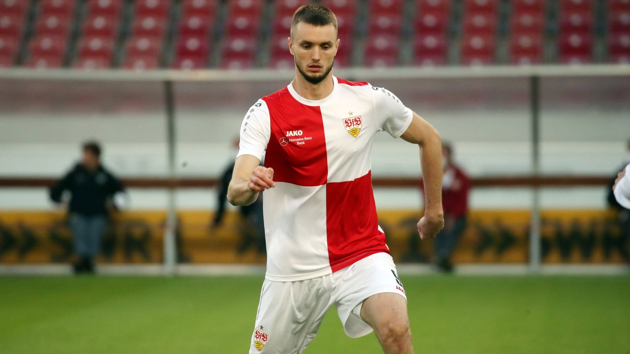 Platz 8 (geteilt): Sasa Kalajdzic (VfB Stuttgart) - Bildquelle: Imago