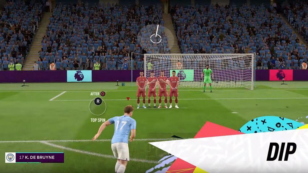 In FIFA 20 kommt ein neues Standardsystem zur Anwendung - Bildquelle: EA SPORTS