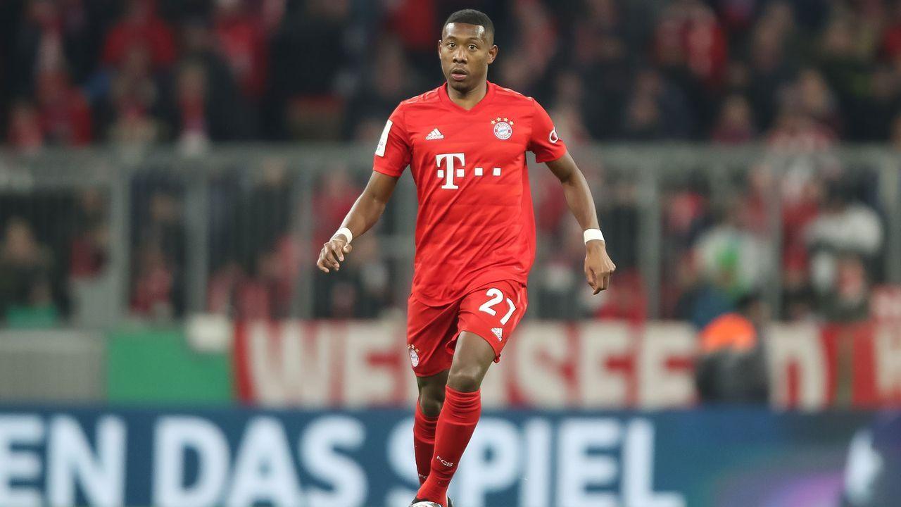 David Alaba (FC Bayern München) - Bildquelle: 2020 Getty Images