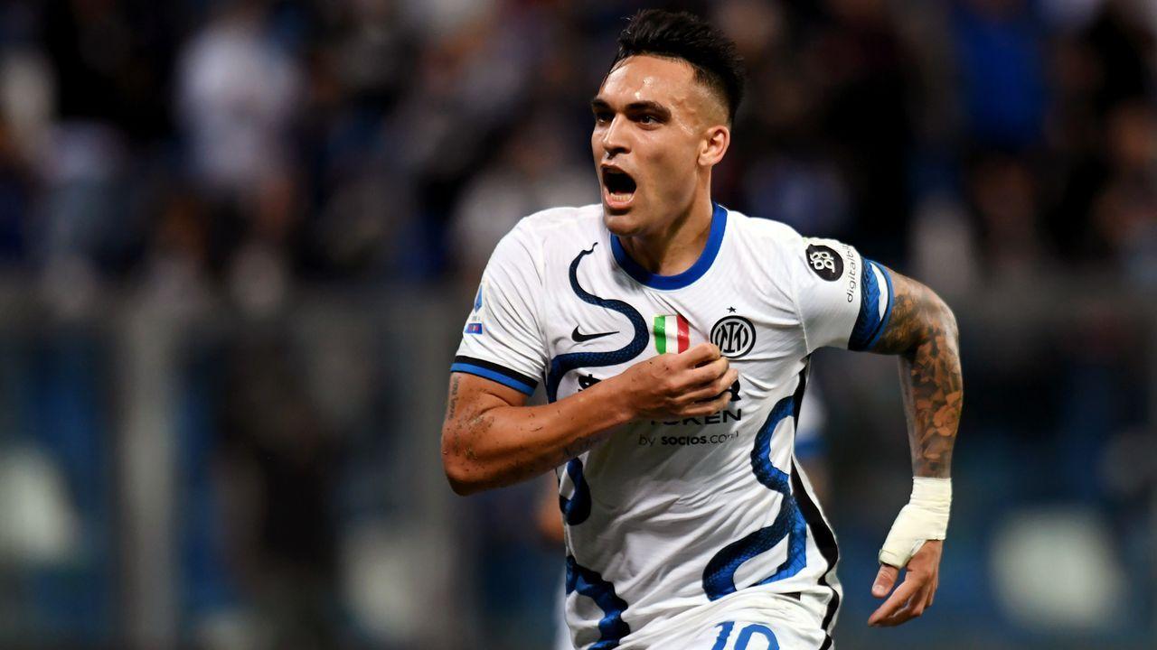 Lautaro Martinez (Inter Mailand) - Bildquelle: 2021 Getty Images