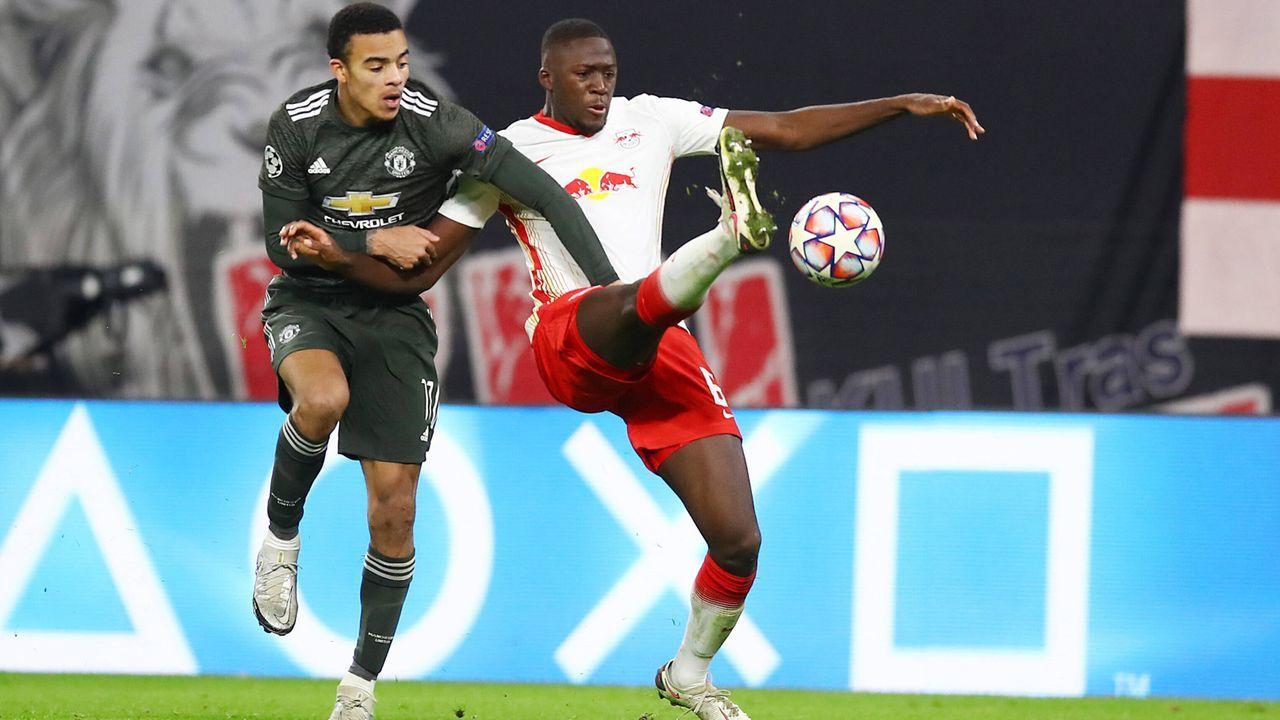 Abwehr: Ibrahima Konaté (RB Leipzig - Bildquelle: imago images/Picture Point LE