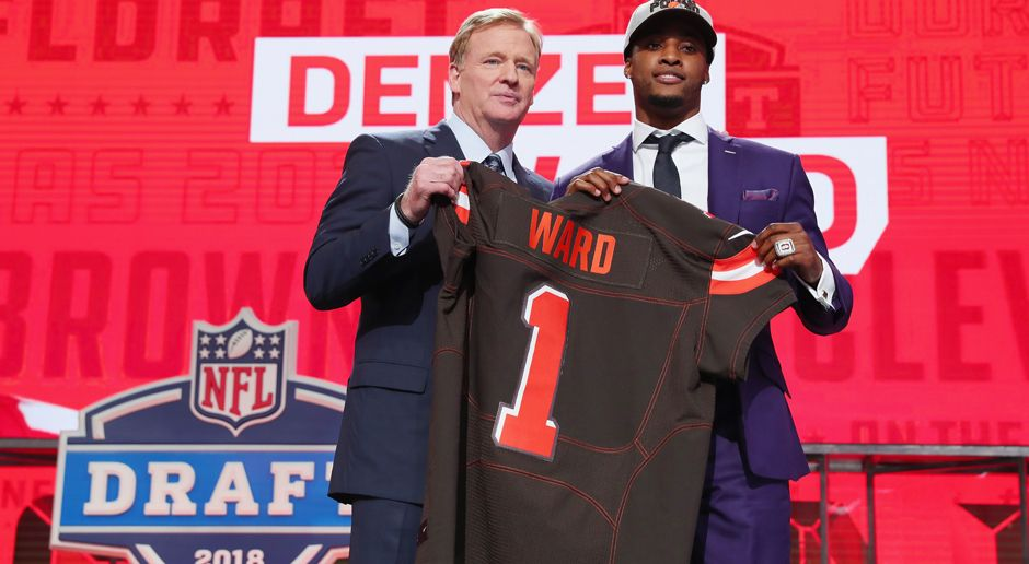4. Pick - Cleveland Browns: CB Denzel Ward - Bildquelle: getty