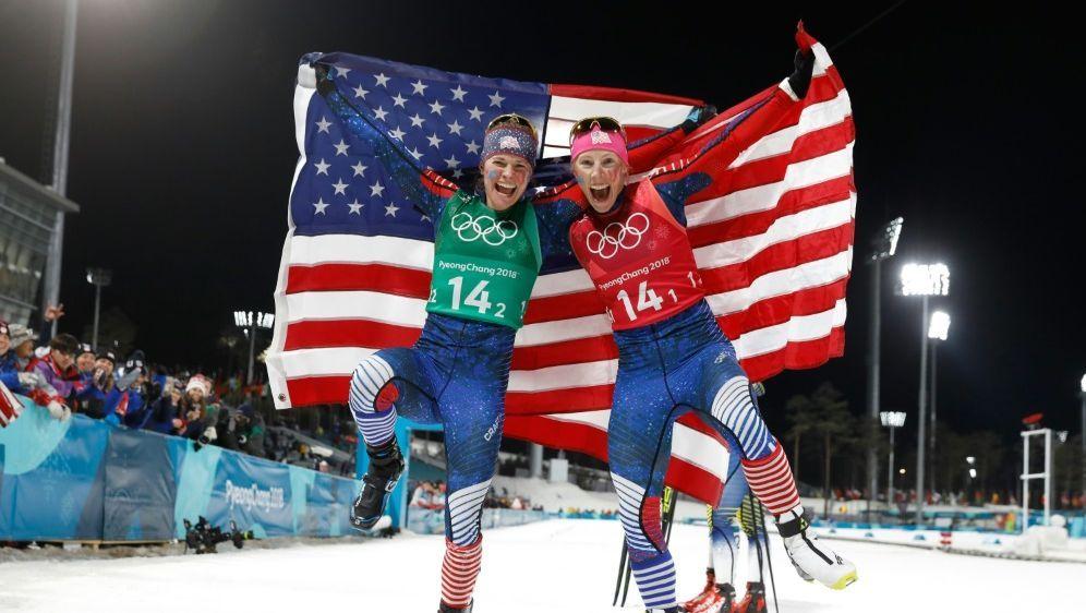 Randall und Diggins holen Langlauf-Gold für USA - Bildquelle: AFPSIDODD ANDERSEN