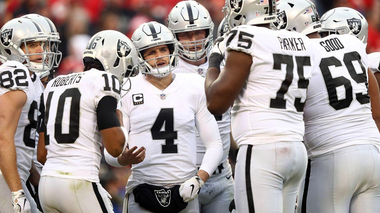 Oakland Raiders - Bildquelle: 2018 Getty Images
