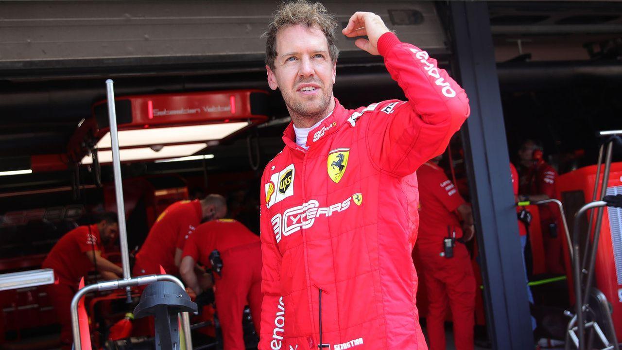 Sebastian Vettel (Scuderia Ferrari) - Bildquelle: 2019 Getty Images