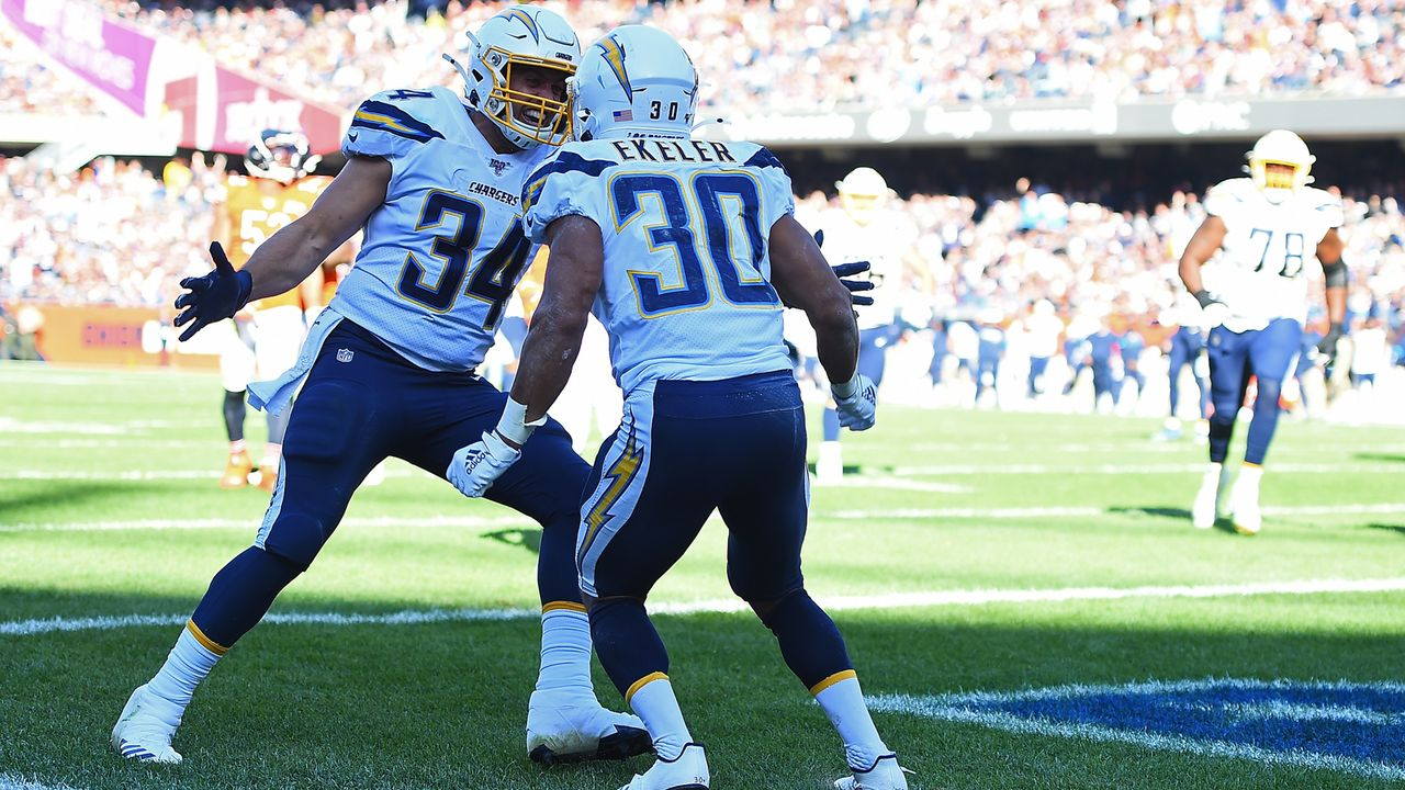 Start: Passing Offense der Los Angeles Chargers - Bildquelle: Getty Images