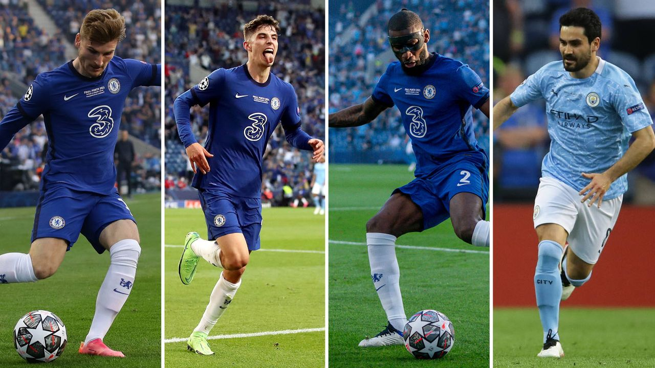 Finale der Champions League: So schlugen sich die DFB-Stars von Chelsea und Manchester City