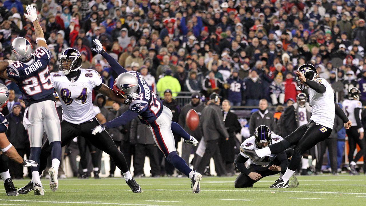 Season 2011: Billy Cundiff (Baltimore Ravens) - Bildquelle: 2012 Getty Images
