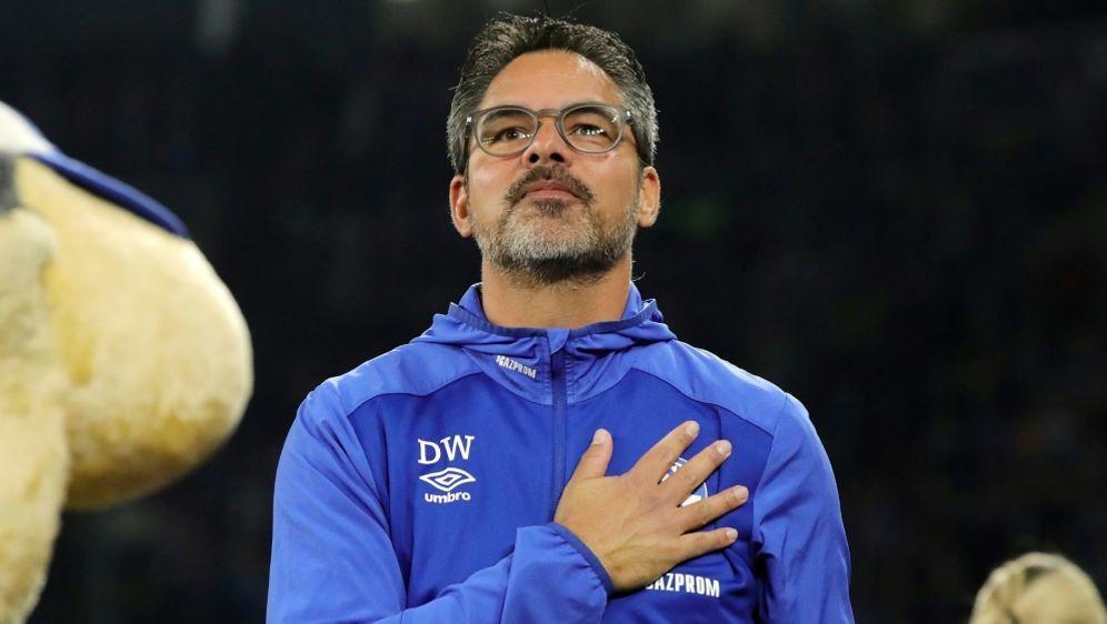 David Wagner ist mit Schalkes Entwicklung sehr zufrieden - Bildquelle: PIXATHLONPIXATHLONSID