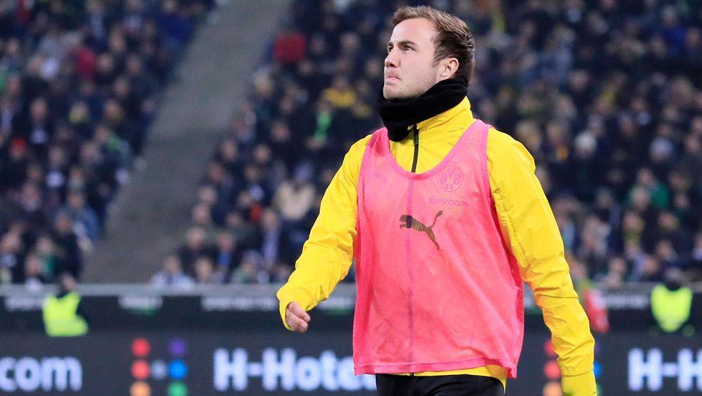 Mario Götze war in seiner Zeit beimm BVB zuletzt oftmals nur noch Ersatzspie... - Bildquelle: imago