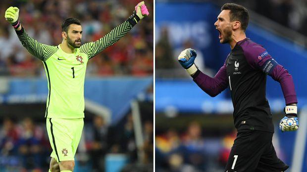 Rui Patricio vs. Hugo Lloris - Bildquelle: Getty Images