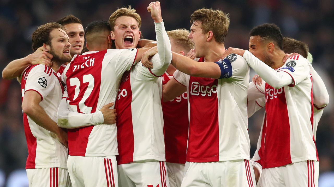 Platz 8 - Ajax Amsterdam - Bildquelle: 2019 Getty Images