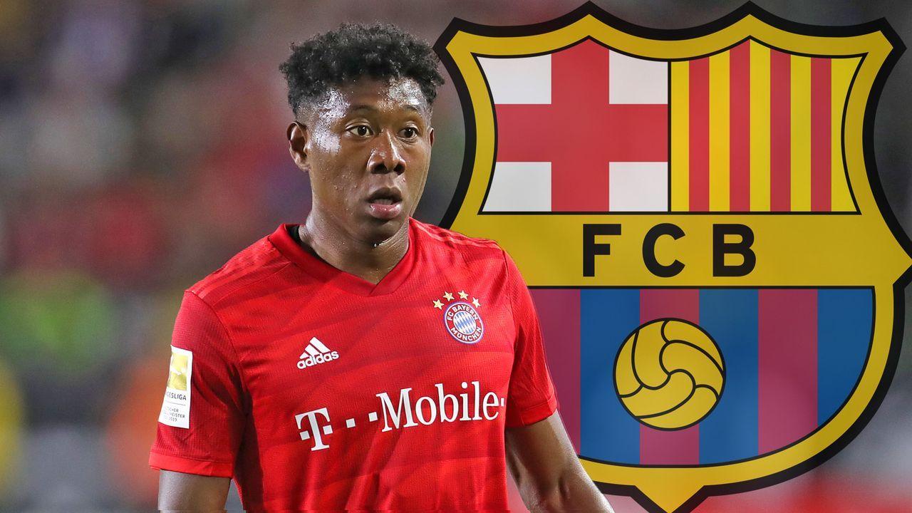David Alaba (FC Bayern München) - Bildquelle: 2019 Getty Images