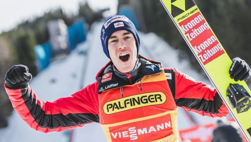 Stefan Kraft gewinnt zum zweiten Mal den Gesamtweltcup - Bildquelle: AFPEXPASIDSTRINGER