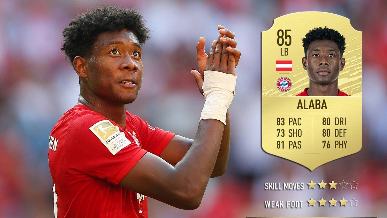 David Alaba (FC Bayern München) - Bildquelle: imago images / GEPA pictures