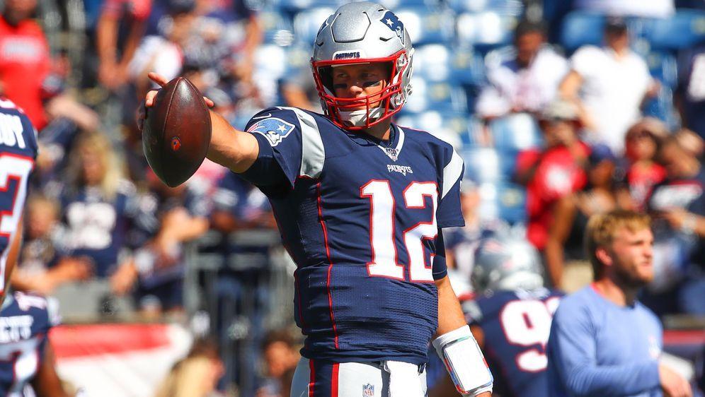 Tom Brady gewinnt mit den New England Patriots. - Bildquelle: imago
