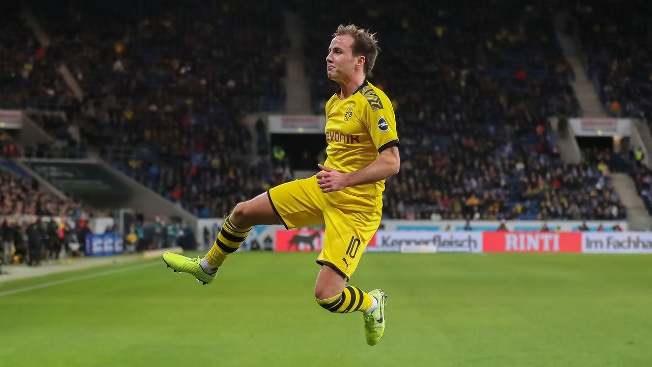 Platz 4: Mario Götze (Borussia Dortmund) - Bildquelle: 2019 Getty Images