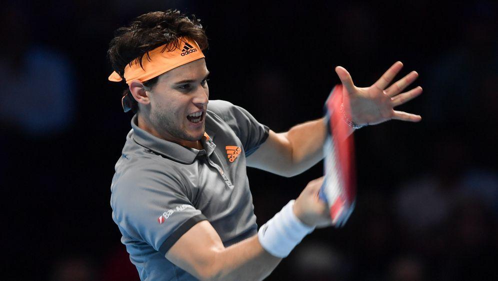 Steht trotz Niederlage im Halbfinale: Dominic Thiem - Bildquelle: imago