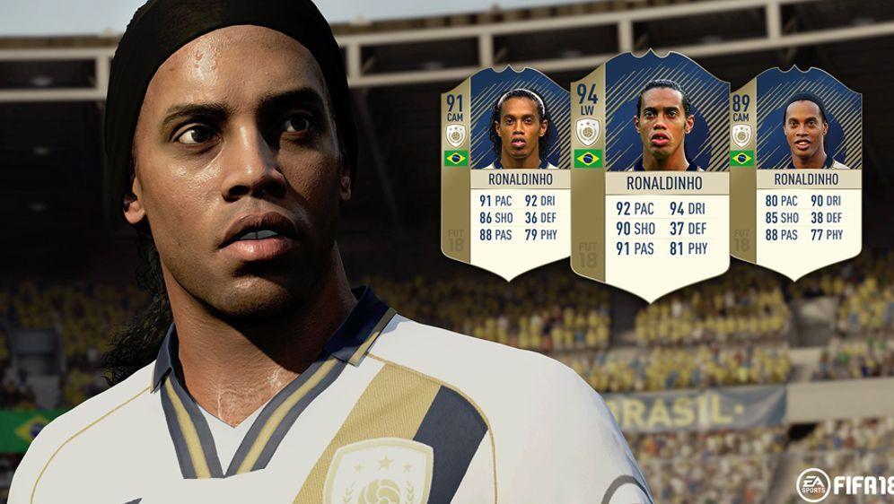 Ronaldinho ist einer der neu vorgestellten Ikonen für FIFA 18. - Bildquelle: EA SPORTS