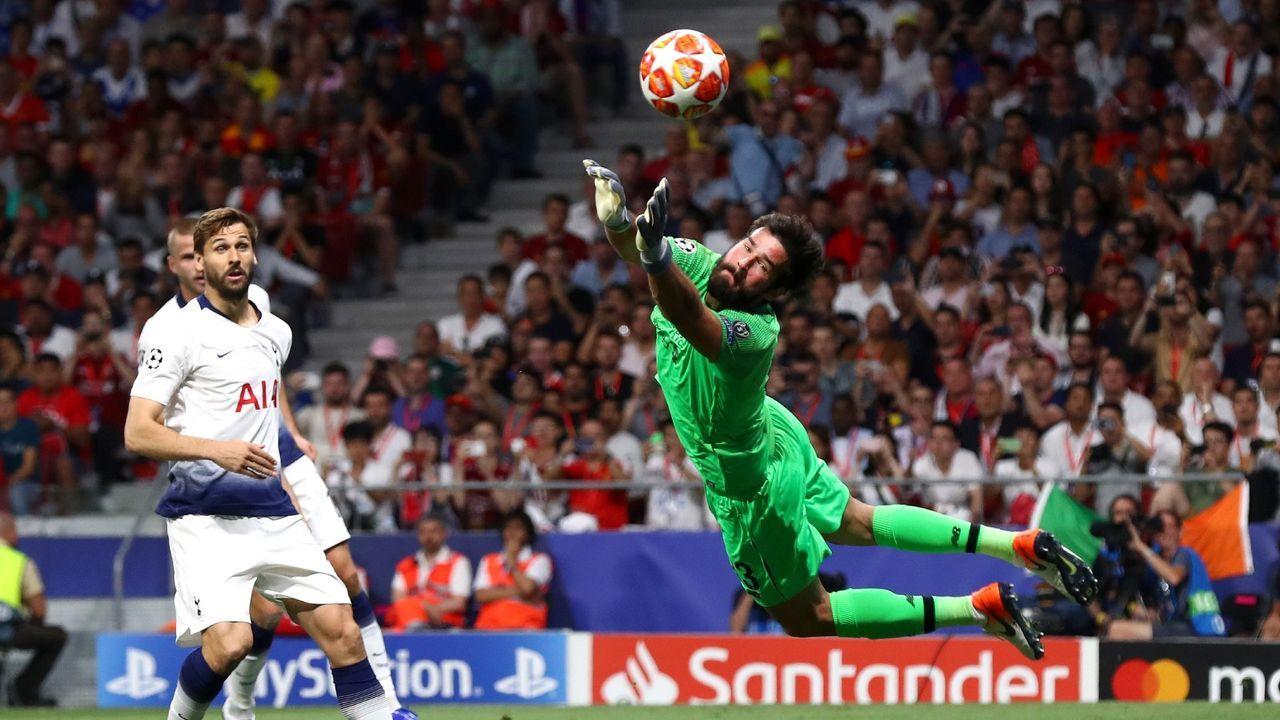 10. Alisson Becker (FC Liverpool) - Bildquelle: 2019 Getty Images