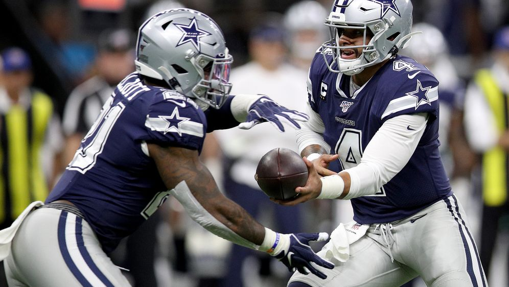 Die Cowboys spielen an Thanksgiving immer zu Hause. - Bildquelle: Getty