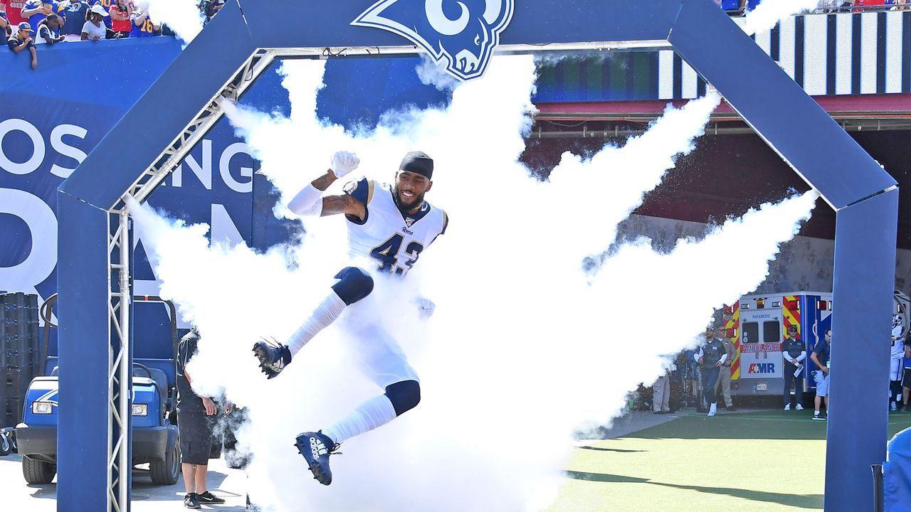 NFC: 6. Los Angeles Rams (aktuell 5-3) - Bildquelle: 2019 Getty Images