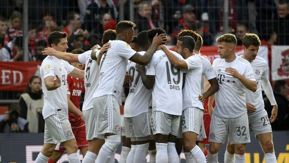 Bayern München siegt in Köln deutlich mit 4:1 - Bildquelle: AFPSIDINA FASSBENDER