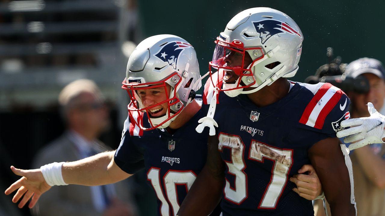 Platz 5: New England Patriots - Bildquelle: 2021 Getty Images