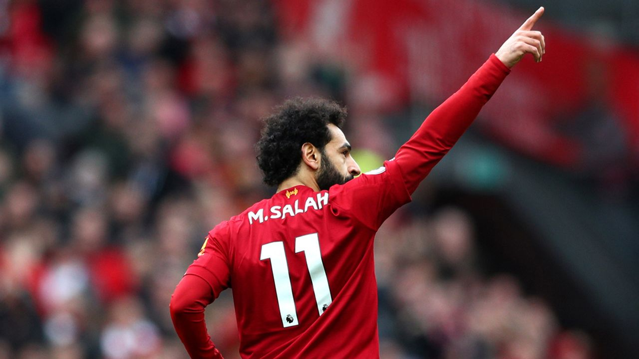 Platz 7: Mohamed Salah - Bildquelle: 2020 Getty Images