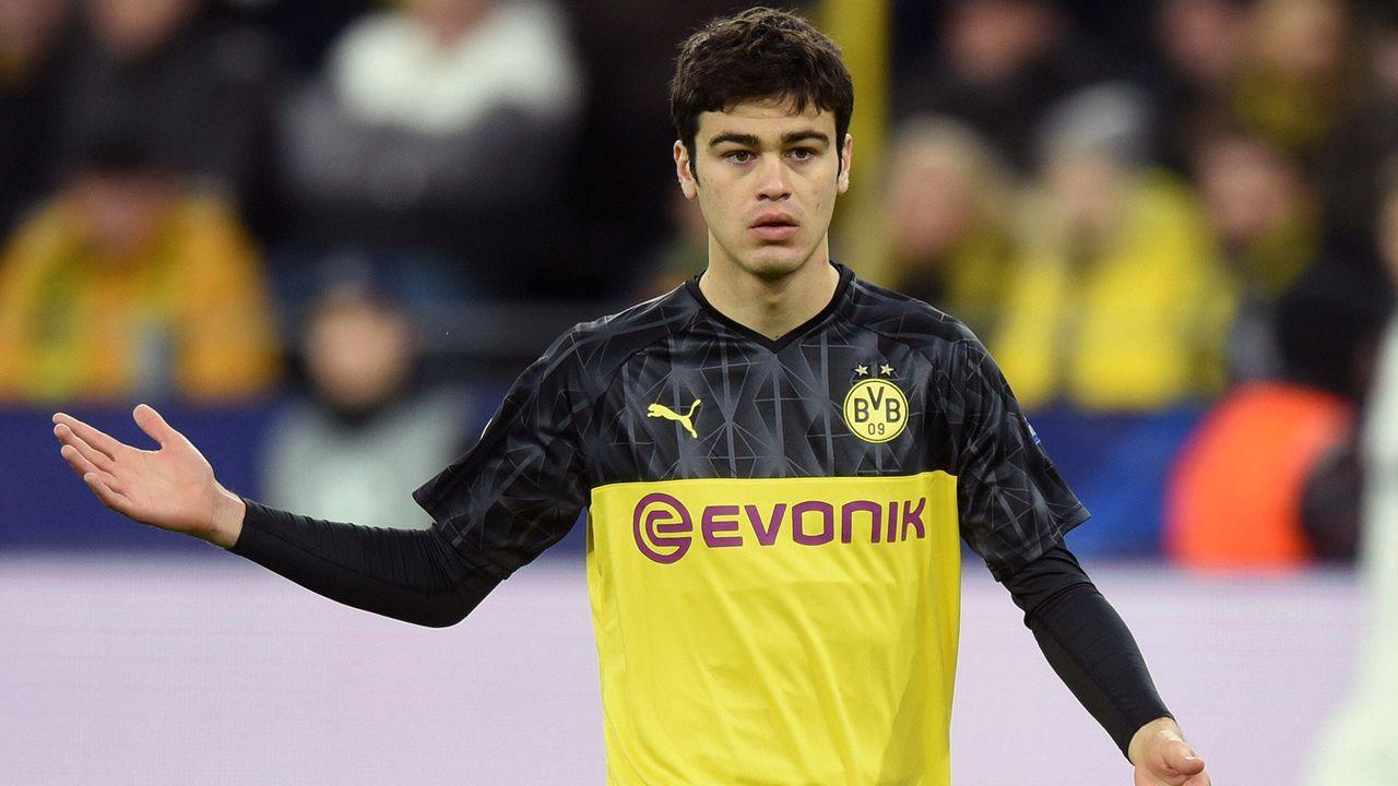 Platz 7 - Giovanni Reyna (Borussia Dortmund) - Bildquelle: imago images/Horstmüller