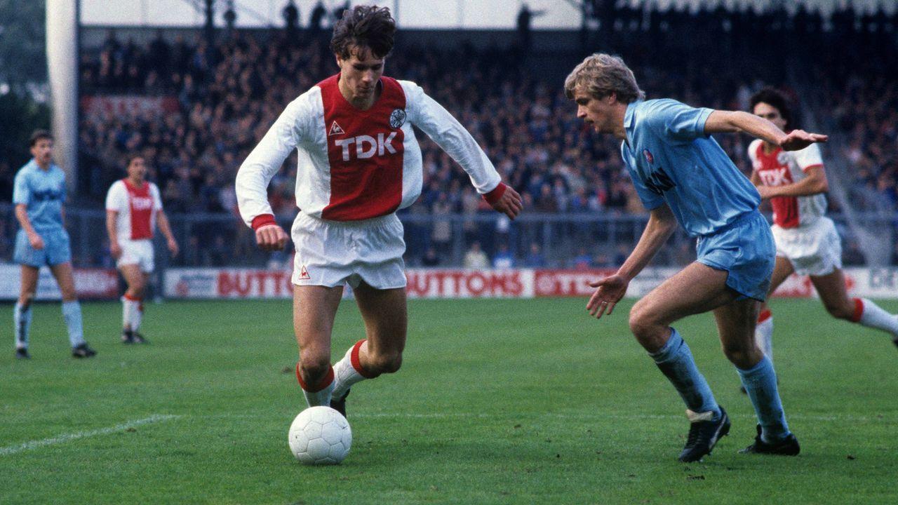 Platz 9 - Marco van Basten (Ajax Amsterdam) - Bildquelle: imago/VI Images