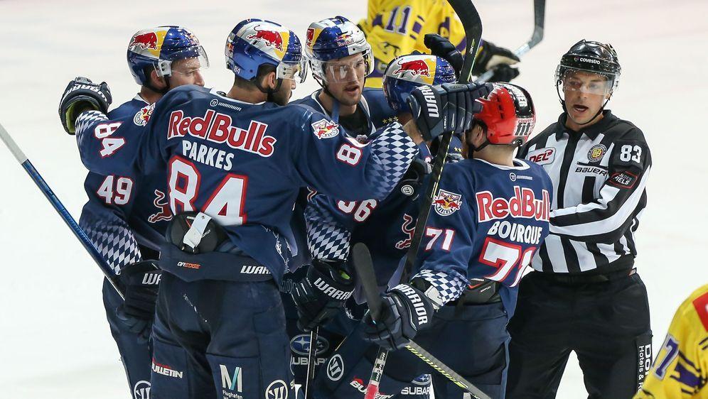 Red Bull München bezwingt Krefeld - Bildquelle: imago