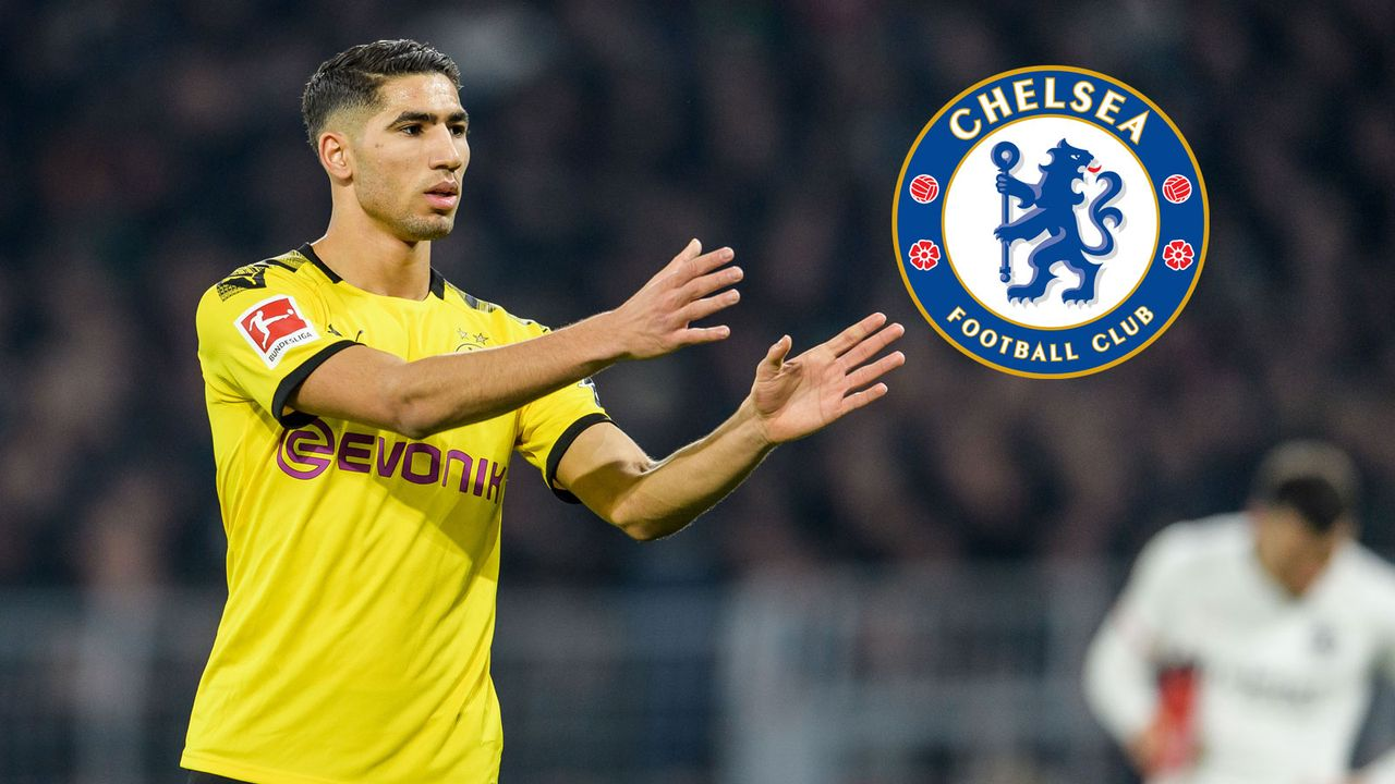 Achraf Hakimi (Borussia Dortmund/Real Madrid) - Bildquelle: Getty Images