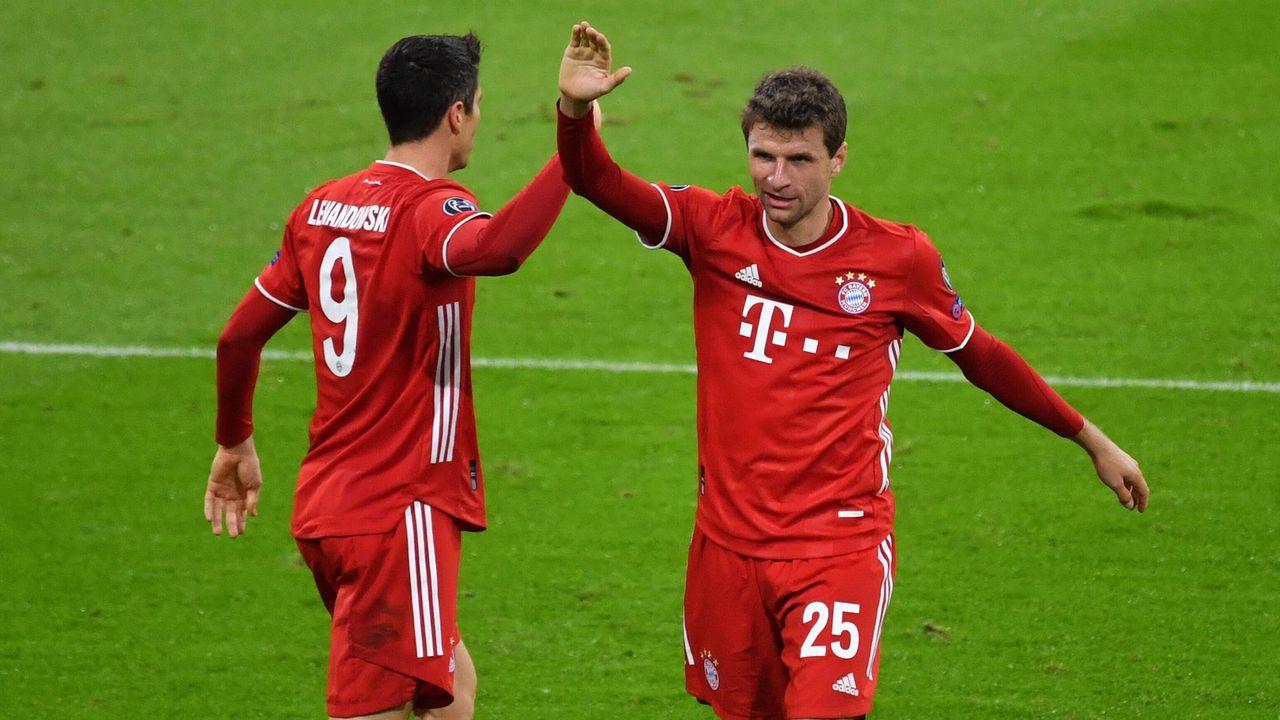 Mittelfeld: Thomas Müller (FC Bayern München) - Bildquelle: SVEN SIMON/Pool/Pressefoto Rudel