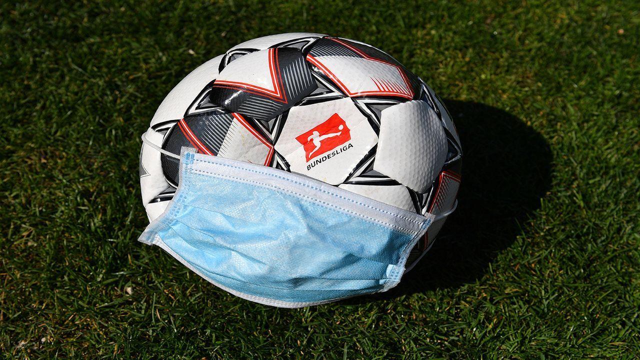 Die Schutzmasken der deutschen Klubs zum Durchklicken - Bildquelle: Imago