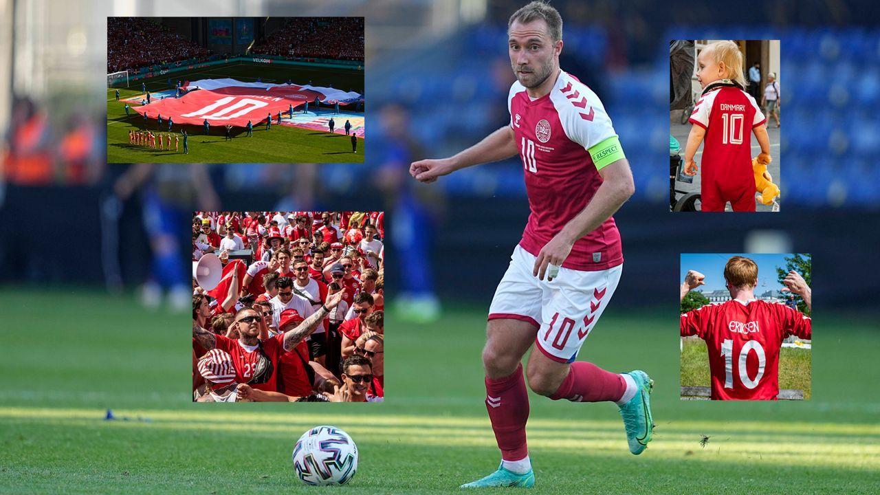 Aktionen für Christian Eriksen: So emotional ist Dänemark gegen Belgien - Bildquelle: imago images/ZUMA Wire