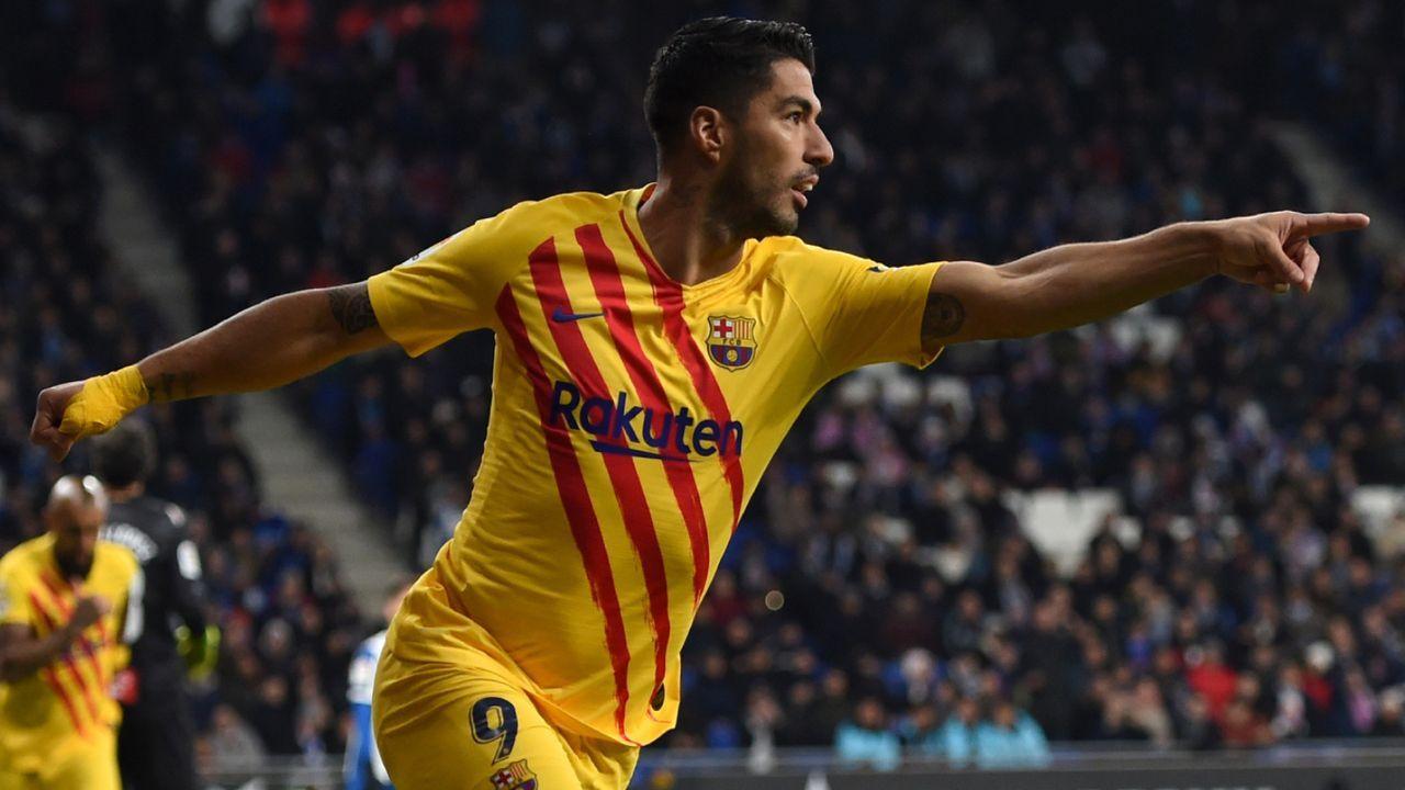 Platz 6: Luis Suarez (FC Barcelona)  - Bildquelle: imago