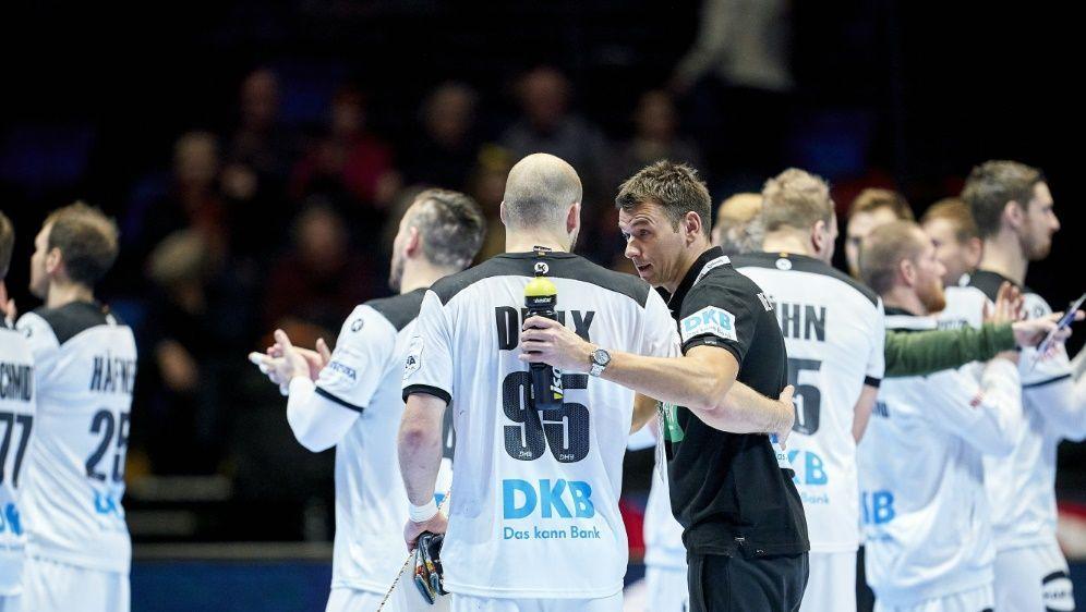 Die deutsche Mannschaft trifft zuerst auf Weißrussland - Bildquelle: AFPSIDOLE MARTIN WOLD