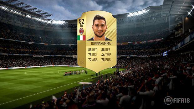 Platz 3: Gianluigi Donnarumma (AC Milan) - Bildquelle: EA Sports