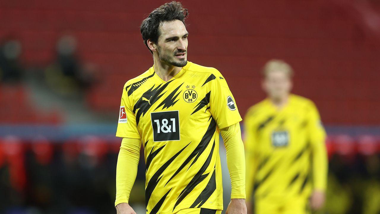 Abwehr: Mats Hummels (Borussia Dortmund) - Bildquelle: 2021 Getty Images